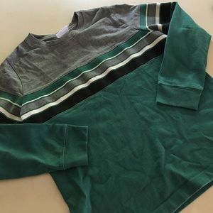 Hanna Andersson Boys Striped Shirt 140 / sz 10